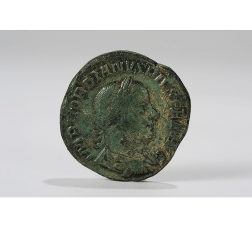 Clearmont AuctionsWESTERN STYLE BRONZE COIN